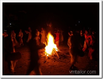 camp fire by Vivek Tailor