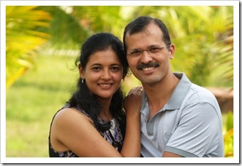 Vaishali and Vivek tailor