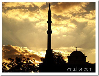 mosque by Vivek Tailor