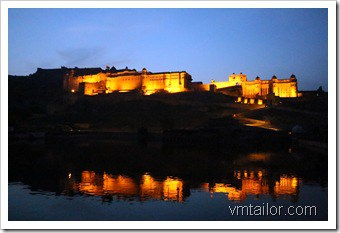 Jaipur fort by Vivek Tailor