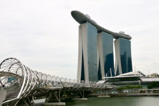 Marina Bay sands by Vivek Taikor